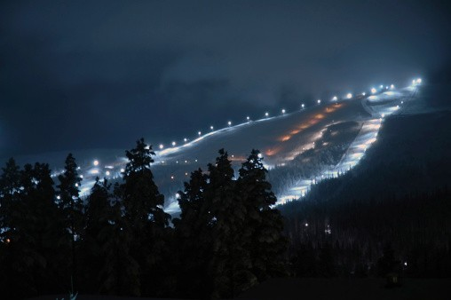 Night Skiing at Mt. Spokane
